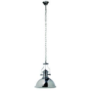 Φωτιστικό οροφής μέταλλο/γυαλί καμπάνα