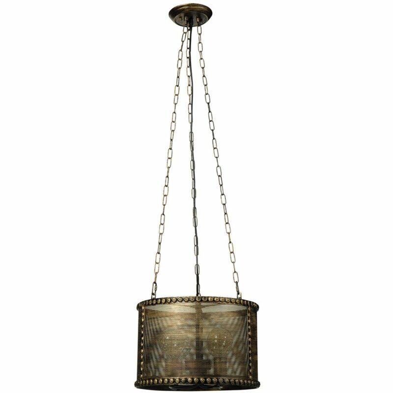 Φωτιστικό οροφής vintage με πλέγμα