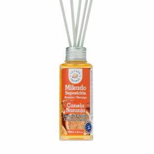 Αρωματικό χώρου με sticks πορτοκάλι-κανέλλα 100ml