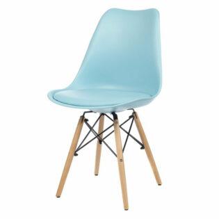 Καρέκλα propilen. και κάθισμα PU