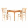 Τραπέζι τραπεζαρίας τετράγωνο teak