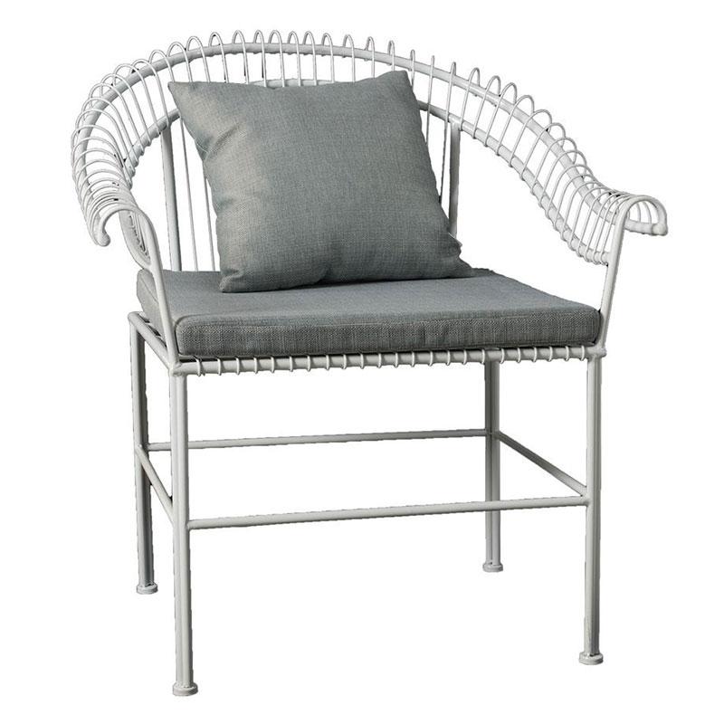 Μεταλλική καρεκλoπολυθρόνα