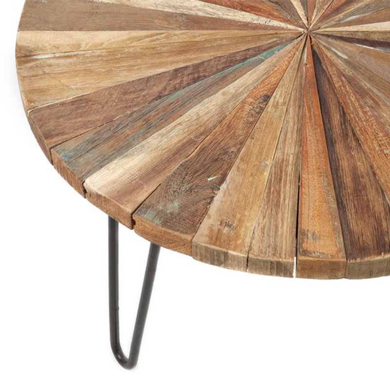 Τραπέζι σαλονιού με πολύχρωμο καπάκι