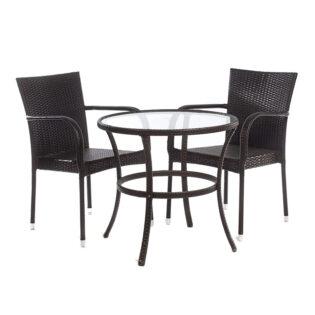 Σετ 1 τραπέζι με 2 καρέκλες