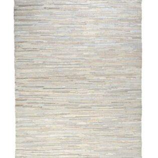 Χαλί δερμάτινο SPICA 160x230 χρώμα ecru