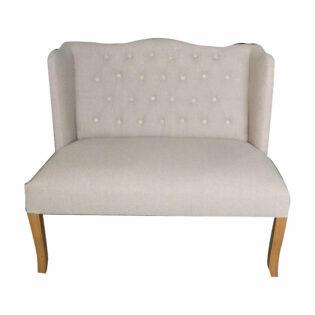 """Καναπές διθέσιος καπιτονέ πλάτη""""Emery"""""""