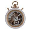 """Ρολόι τοίχου με εμφανή μηχανισμό """"Roman"""""""