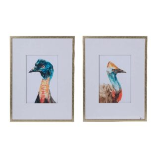 """Πίνακας Σετ/2 """"Peacock"""""""