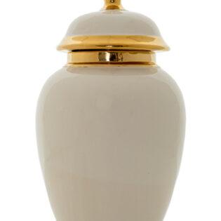 Βάζο κεραμικό με καπάκι 20x40.5cm
