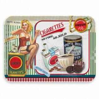 Δίσκος μελαμίνης Lucky cigaretts 37,2x26,2x2,5cm