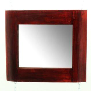 Καθρέπτης κόκκινος 80Χ60-Καθρέφτης