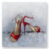 """Πίνακας """"Red sandals"""""""