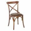 Καρέκλα Χ ξύλινη