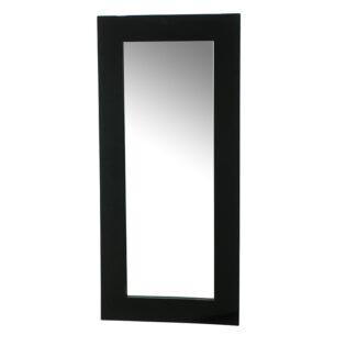 Καθρέπτης λακαριστός μαύρος 110Χ50-Καθρέφτης