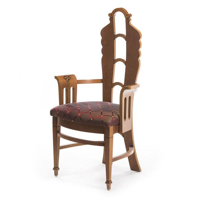 """Καρέκλα ύφασμα με ρόμβους """"Art Deco"""""""