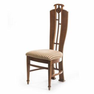"""Καρέκλα ύφασμα ριγέ """"Art Deco"""""""
