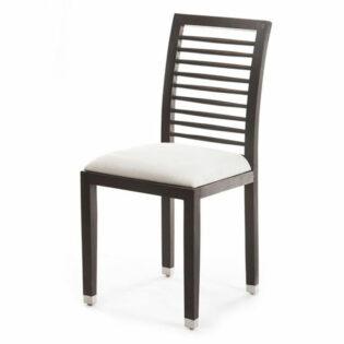 Καρέκλα φαγητού λευκή