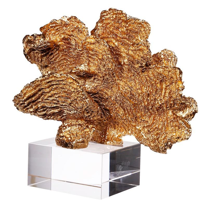 Κοράλι διακοσμητικό σε γυάλινη βάση