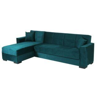 Καναπές-κρεβάτι γωνία PORTO EFOR 0001
