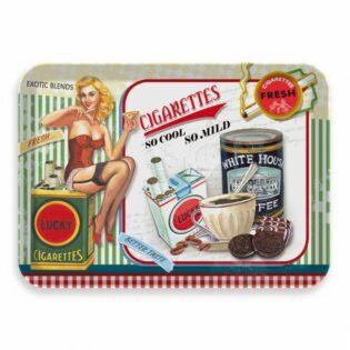 Δίσκος μελαμίνης Lucky cigaretts 30x21,5x2cm