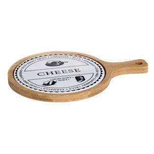Βάση κοπής τυριού με χερούλι