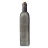 Μπουκάλι γυάλινο με γκρι ρίγες