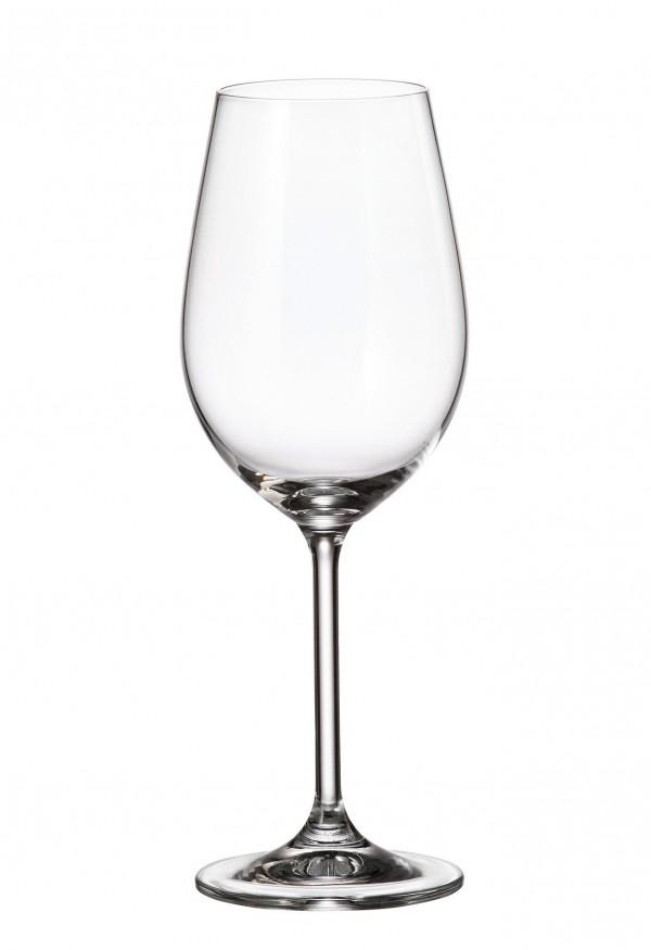 Σετ 6 ποτήρια κρασιού με πόδι 350ml