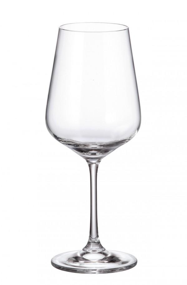 Σετ 6 ποτήρια κρασιού με πόδι 360ml