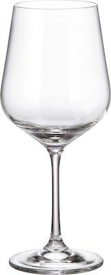 Σετ 6 ποτήρια κρασιού με πόδι 580ml