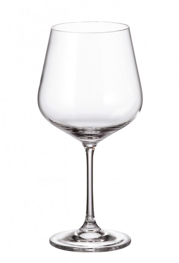 Σετ 6 ποτήρια κρασιού με πόδι 600ml