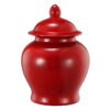 """Βάζο διακοσμητικό με καπάκι """"Crimson"""""""