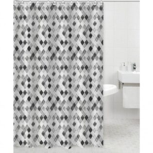 Κουρτίνα μπάνιου πολυεστερική 180Χ180cm